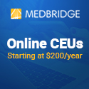 Medbridge; CEUs Online CEUs; affiliate link