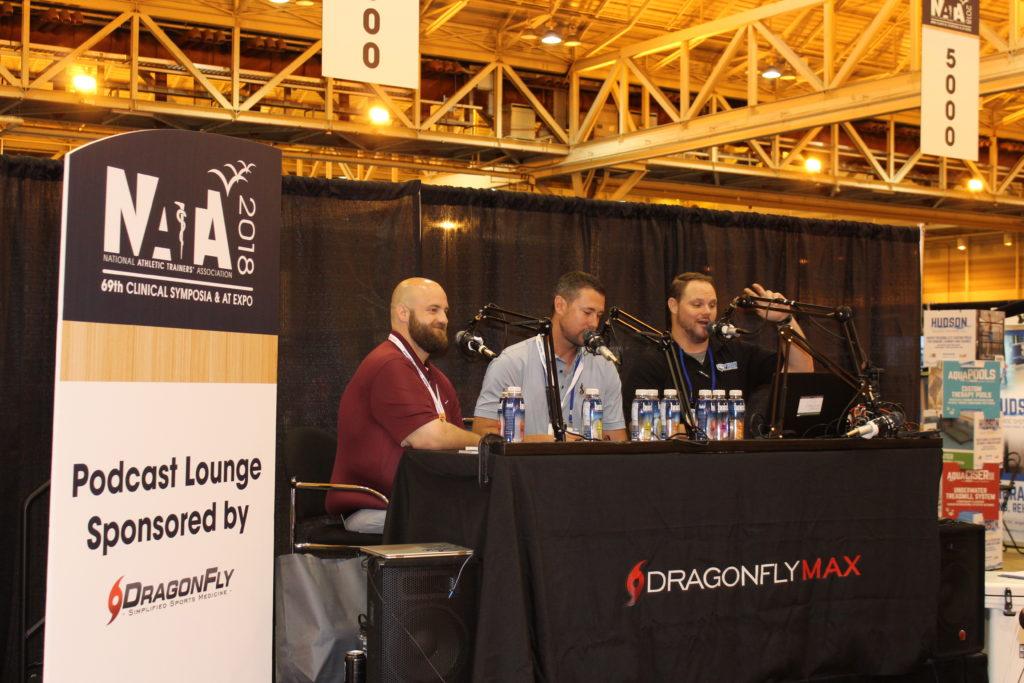 NATA NOLA, Pocast Lounge; Dragonfly Max; Brett McQueen; Casey Paulk; Rob McFarlin