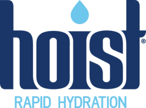 Hoist logo; rapid hydration; Reducing Injury Risk