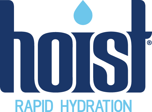 Hoist logo; rapid hydration; Isotonic drink; Isotonic; isotonic solution