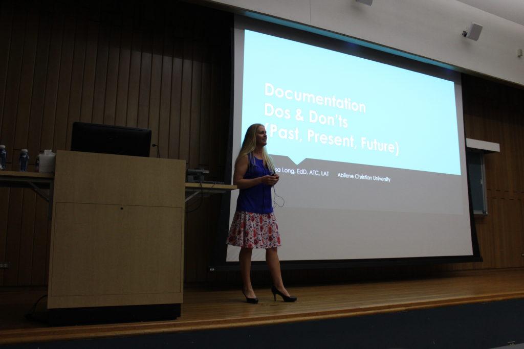 Melissa Long, Dr. Long; Documentation Tips; Dpcumentation Dos; Documentation Don't; Trinity, Trinity University.