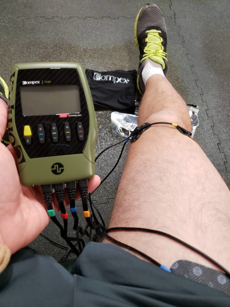 Compex Live; Compex Edge, NMES; AT Uses; Brandon Hearn