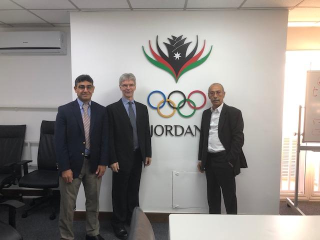 WFATT; Glen Bergeron; Jordan IOC